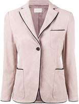 L'Autre Chose Pipin blazer - women - Lamb Nubuck Leather - 40