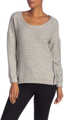 Papillon Metallic Zip Sweater