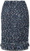 Coohem tweed pencil skirt - women - Cotton/Nylon/Polyester - 38