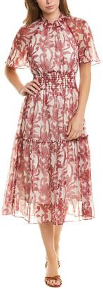 Taylor Chiffon Midi Dress