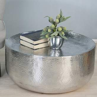 Bungalow Rose Donoghue Moroccan Hammered Coffee Table