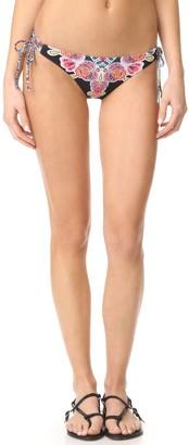 Red Carter Women's Bohemian Breeze Side Tie Cali Hipster Bikini Bottom