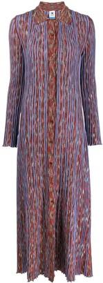 M Missoni Knitted Long Shirt Dress