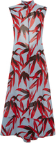 Marni Sleeveless A Line Printed Dress