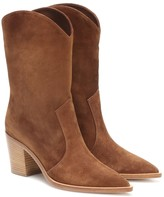 Gianvito Rossi Denver suede ankle boots