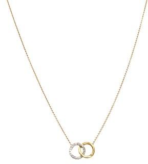 Marco Bicego Delicati Diamond Jaipur Link Necklace, 16.5