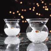 Wine Enthusiast Set of 2 Martini Chillers