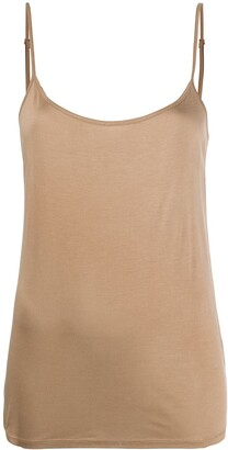 Luisa Cerano Scoop Neck Sleeveless Top