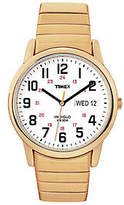 Timex Men's Fashion Easy Reader Goldtone Exp Band Watch