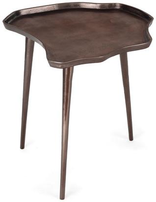 Gild Design House Evianna Side Table, Small Bronze