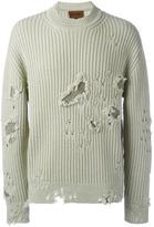 Yeezy Season 3 distressed jumper - unisex - Cotton/Wool - M