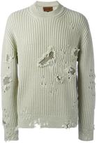 Yeezy Season 3 distressed jumper