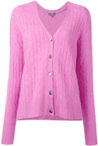 N.Peal cashmere oversize box cable cardigan