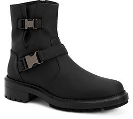Aquatalia Women's Lillie Weatherproof Matte Leather Short Boots