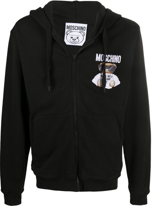 Moschino Embroidered Toy Bear Hoodie