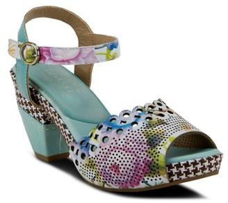 L'artiste By Spring Step Vivarj Platform Sandal