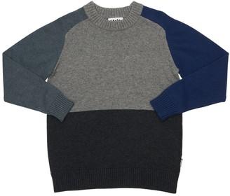 Molo Knit Cotton & Wool Sweater