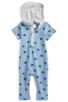 Nordstrom Infant Boy's Hooded Romper