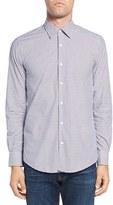 Pal Zileri Men's Plaid Sport Shirt