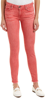 Joie Jeans Washed Red Denim Skinny Leg