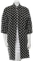 Chanel Patterned Tweed Coat
