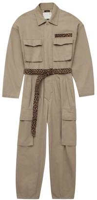 R 13 Abu Long Sleeve Jumpsuit