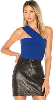 Bailey 44 Ceremonial One Shoulder Top in Royal Blue. - size L (also in M,S,XS)