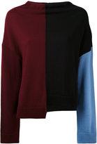Marni colour-block sweater - women - Virgin Wool - 42