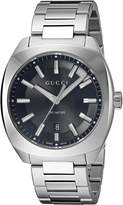 Gucci Men's YA142301 Analog Display Swiss Quartz Silver Watch