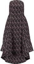 Rosie Assoulin Cutout printed silk midi dress