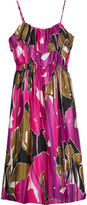 MINT jodi arnold Floral print dress