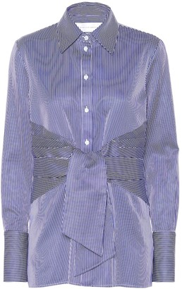 Victoria Victoria Beckham Striped cotton shirt