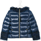Herno Kids lurex-trimmed padded jacket