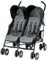 Chicco Echo Twin Stroller - Coal