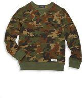 Ralph Lauren Toddler's, Little Boy's & Boy's Camo Sweatshirt