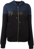 Versace Greca Key hooded sweatshirt - women - Cotton - M