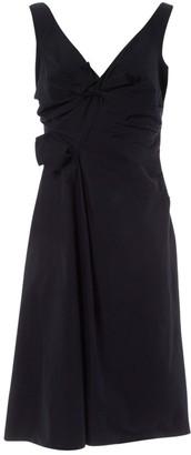 Prada Navy Cotton Dresses