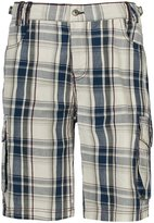 Trespass Mens Galax Casual Long Length Plaid Pattern Shorts (M)