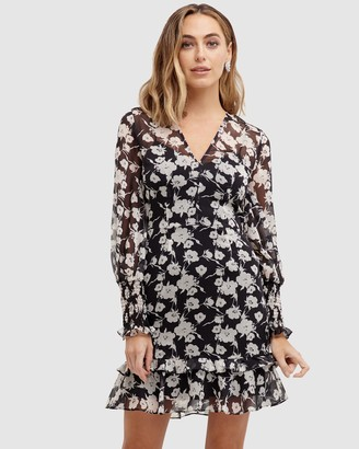 Cooper St Bowery Long Sleeve Mini Dress