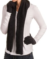 Manzella Aloe Gloves and Scarf Set (For Women)