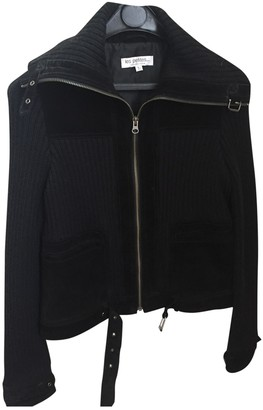 Les Petites Black Leather Leather Jacket for Women