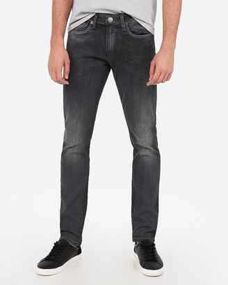 Express Skinny Gray Hyper Stretch Jeans