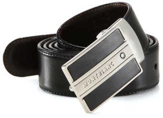 Montblanc Rectangular Buckle Belt