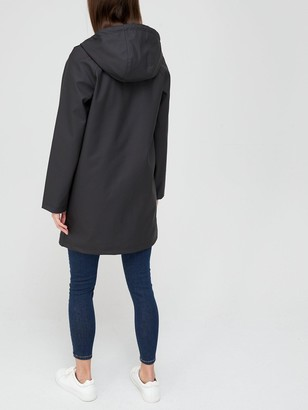Very Rubberised Jacket with Hood - Back