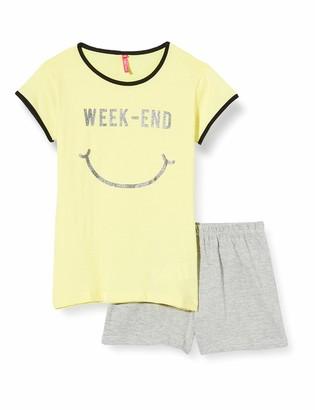 Lina Pink Girls' EF.HAP.PSH Pyjama Sets