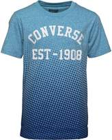 Converse Junior Boys Vintage Fade T-Shirt Soar Snow