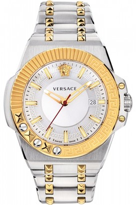 Versace Mens Chain Reaction 45Mm Watch VEDY00519