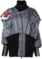 Vivienne Westwood geometric print oversized jacket