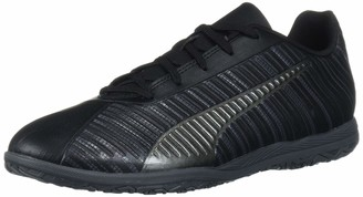 Puma Kids One 5.4 Indoor Trainer Sneaker Black Black Aged Silver 12 M US Little Kid