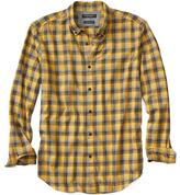 Banana Republic Camden-Fit Luxe Flannel Plaid Shirt